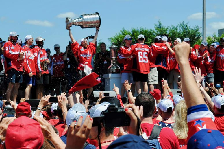 washington capitals stanley cup rally