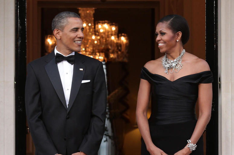The Obamas have signed a podcast deal with Spotify.