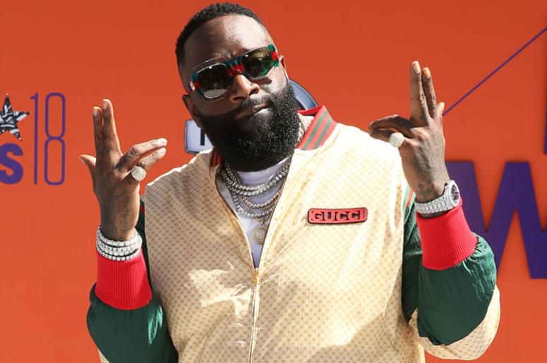 Rick Ross attends the 2018 BET Awards