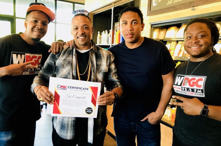 Tai Campbell and Adimu real good people awards