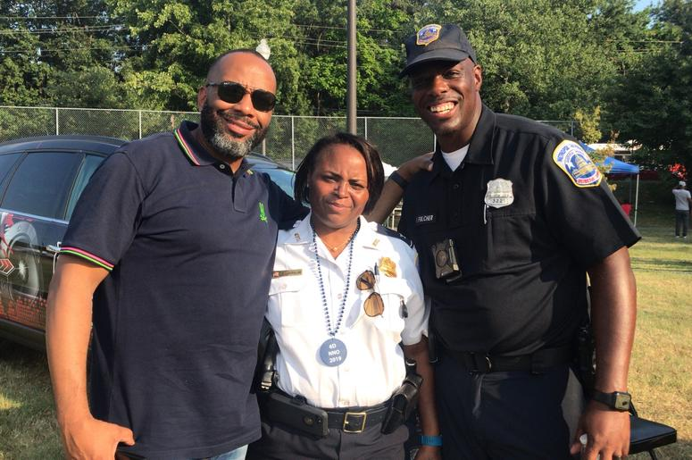 National Night Out emphasized respect between police and the community.