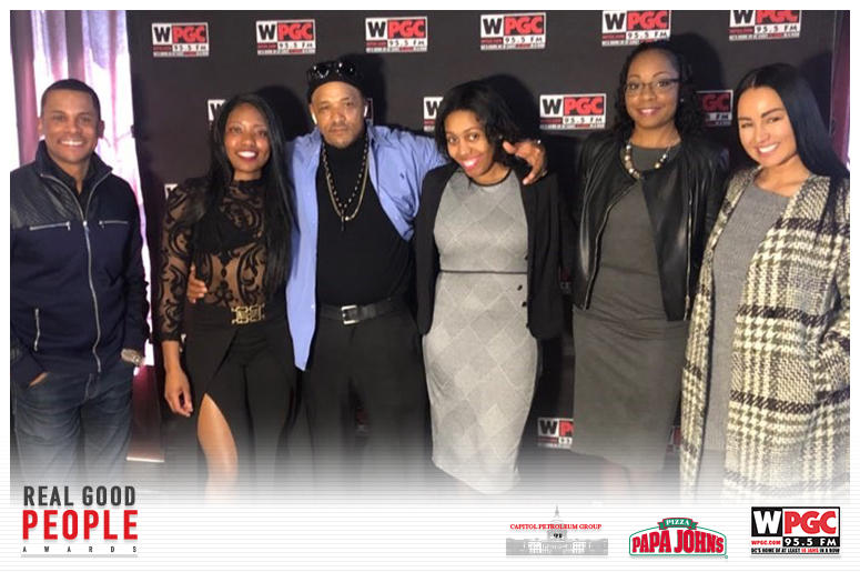 WPGC 95.5 Hosts Real Good People Awards at Ivy City Smokehouse