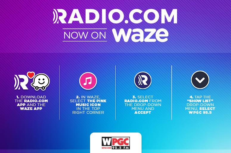 More Waze To Listen To WPGC 95 5   WPGC 95 5