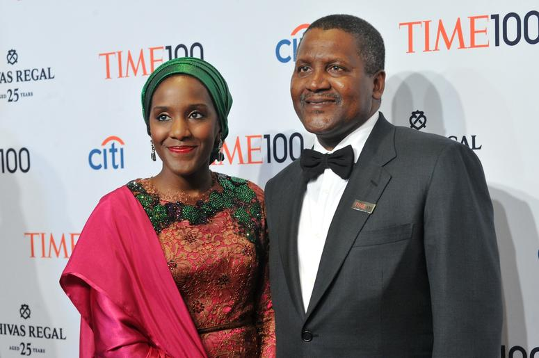 Aliko Dangote $10.4 billion