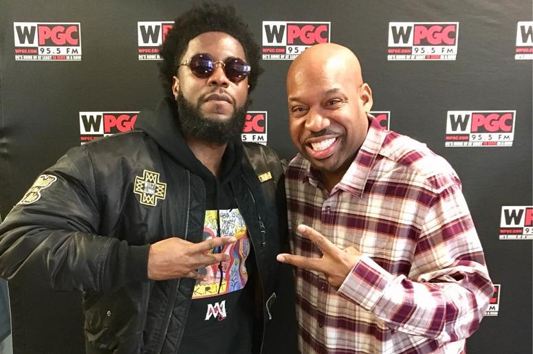 Big K.R.I.T. and DJ Flexx of WPGC