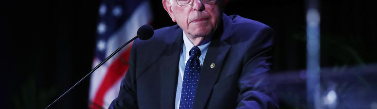 Sanders, liberals, out with bill to cancel student debt