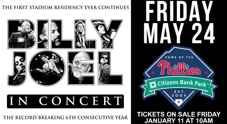 Win Tickets To See Billy Joel In Concert May 24th At