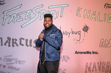 Khalid attends the 'Free Spirit' VIP premiere at Pacific Theaters at the Grove on April 01, 2019 in Los Angeles, California