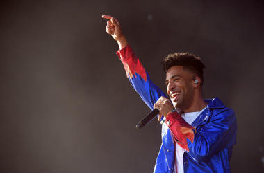 SuperDuperKyle performs during 2018 Coachella