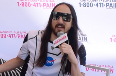 Steve Aoki and DD at Miami Music Week 2019