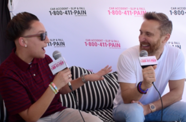 David Guetta and DD at Miami Music Week 2019