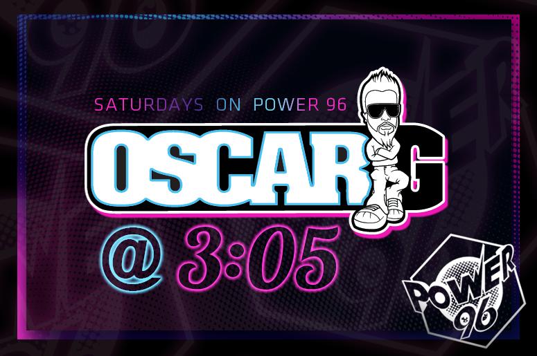 Oscar G at 3:05 Mix Show