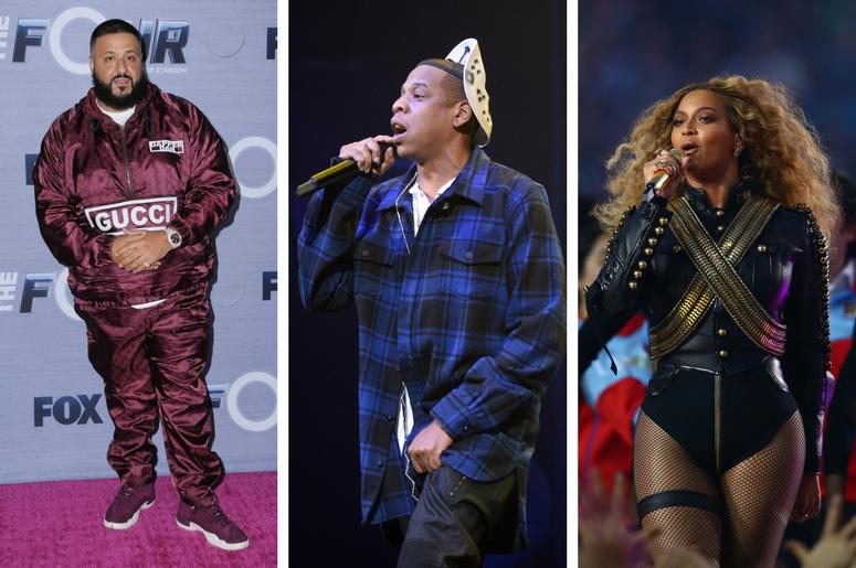 DJ Khaled, JAY-Z, Beyonce