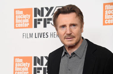 """NEW YORK, NY - OCTOBER 04: Liam Neeson attends the screening of """"The Ballad of Buster Scruggs"""" during the 56th New York Film Festival at Alice Tully Hall, Lincoln Center on October 4, 2018 in New York City. (Photo by Nicholas Hunt/Getty Images)"""