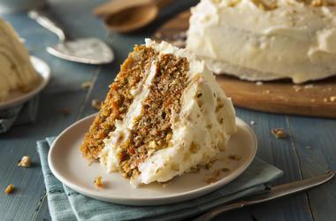 Healthy Homemade Carrot Cake Ready for Easter
