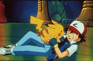 """1999 Pikachu And Ash In The Animated Movie """"Pokemon:The First Movie."""" (Photo By Getty Images)"""