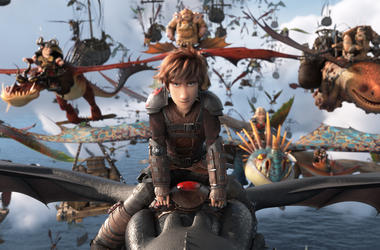 "Hiccup (Jay Baruchel) and his Night Fury dragon Toothless lead the Dragon Riders in DreamWorks Animation's ""How To Train Your Dragon: The Hidden World,"" directed by Dean DeBlois."