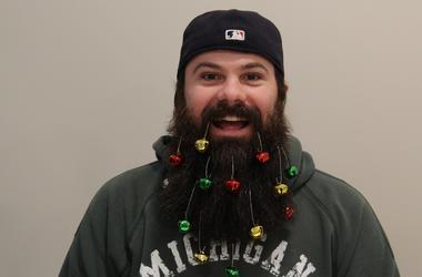 Jack Freeman's Christmas Beard Day 1