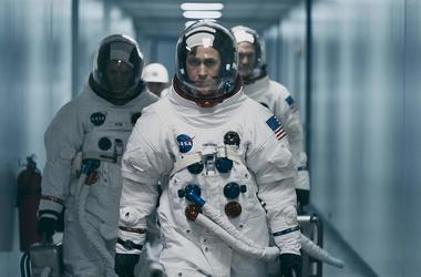 "Damien Chazelle and star RYAN GOSLING reteam for Universal Pictures' ""First Man,"" the riveting story of NASA's mission to land a man on the moon, focusing on Neil Armstrong and the years 1961-1969."