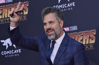 """Mark Ruffalo arrives at Marvel Studios' """"Avengers: Infinity War"""" held on Hollywood Blvd in Hollywood, CA on Monday, April 22, 2018"""