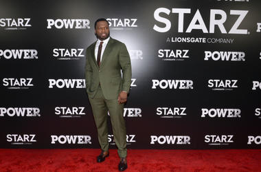 """Curtis """"50 Cent"""" Jackson attends the Season 5 World Premiere of """"Power"""" at Radio City Music Hall in New York, NY, on June 28,2018."""