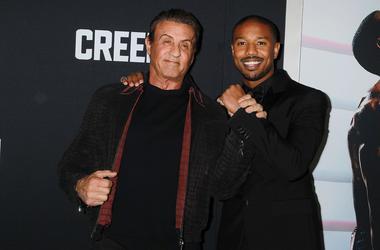 """Creed II"" - Sylvester Stallone and Michael B. Jordan"