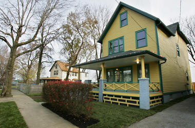 """The house on W. 11th St. in Cleveland, Ohio, that was used in the filming of """"A Christmas Story"""" on November 15, 2006, has been refurbished and open to the public along with a museum dedicated to the movie."""