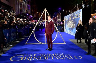 11/13/2018 - Eddie Redmayne attending the Fantastic Beasts: The Crimes of Grindelwald UK premiere held at Leicester Square, London. (Photo by PA Images/Sipa USA) *** US Rights Only ***