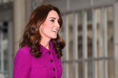 1/16/2019 - The Duchess of Cambridge arrives at the Royal Opera House in London where she will see the costume department and meet the Royal Ballet principal dancers. (Photo by PA Images/Sipa USA) *** US Rights Only ***
