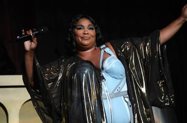 MIAMI BEACH, FL- SEPTEMBER 11: Lizzo in concert at The Fillmore, Miami Beach, Florida, September 11, 2019. (Photo by Ron Elkman/USA TODAY NETWORK/Sipa USA)