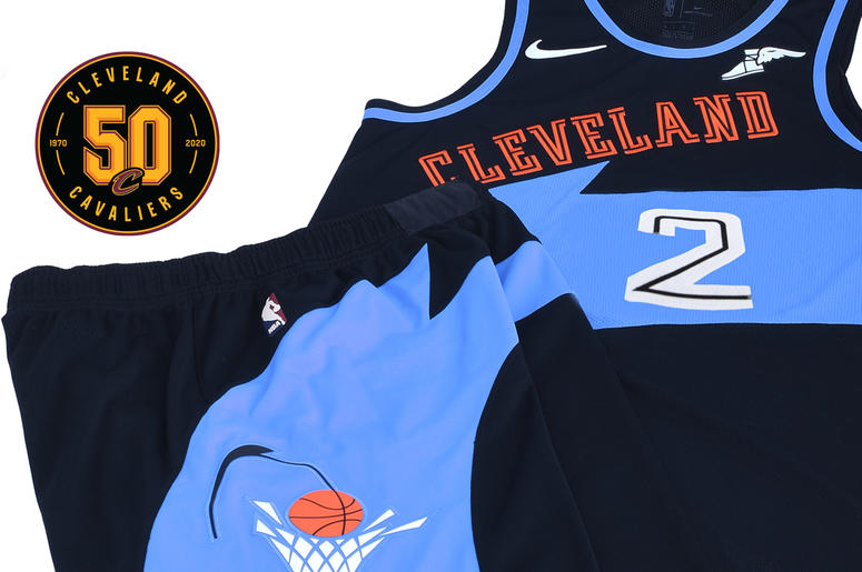 premium selection 93307 3a64b LOOK: Cleveland Cavaliers Introduce Throwback 90s Uniforms ...