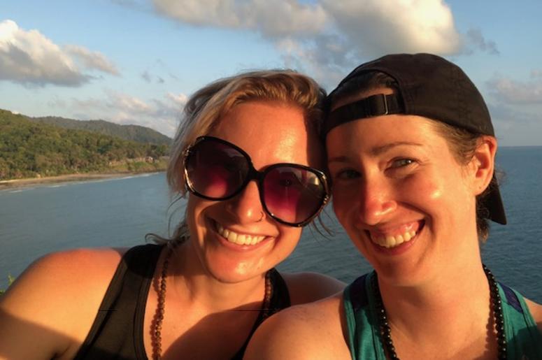 Kelly and her girlfriend, Lauren