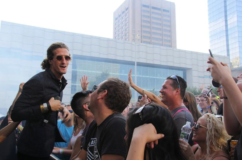 The Revivalists at InCuya Music Festival