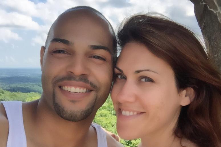 Amanda Casey and her husband
