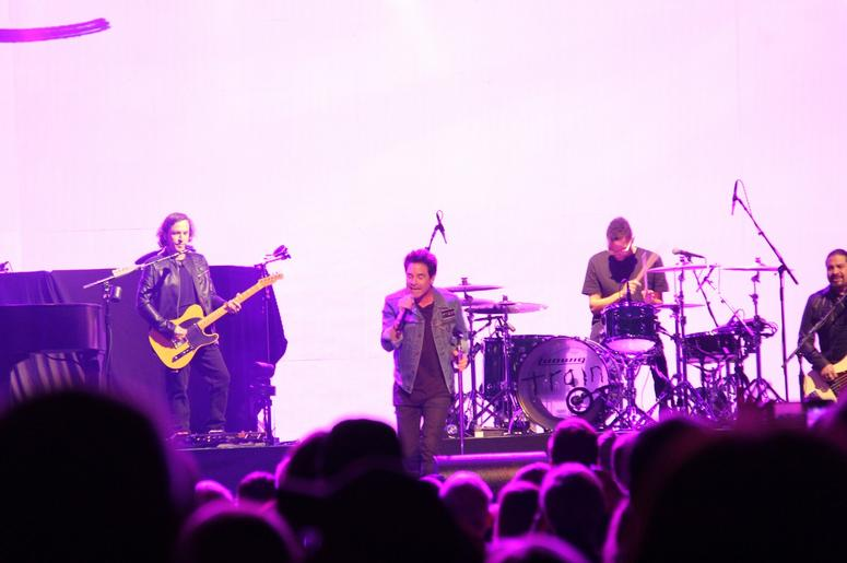 Pat Monahan of Train at the Q in Cleveland