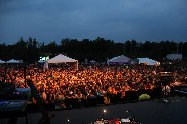 the crowd for Foster the People at LaureLive 2018