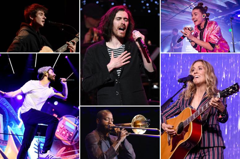 LaureLive 2019 Playlist Has Hozier, AJR, Misterwives, Sheryl Crow