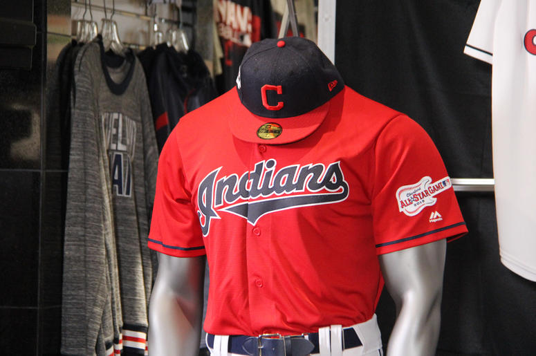 reputable site cdcb4 fdc21 Cleveland Indians Add Red Jersey, All-Star Patch For 2019 ...