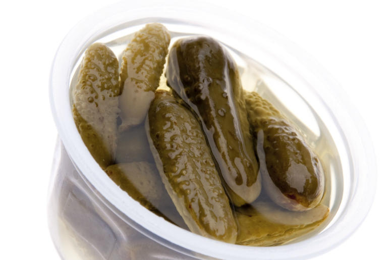 Baby Pickles in Juice