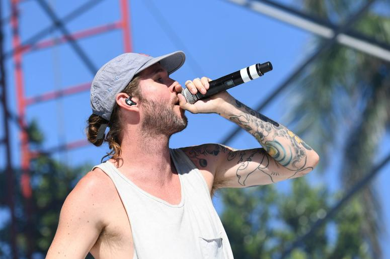May 6, 2017; West Palm Beach, FL, USA; Jared Watson of the Dirty Heads performs at the SunFest Music Festival. Mandatory Credit: Ron Elkman/USA TODAY NETWORK