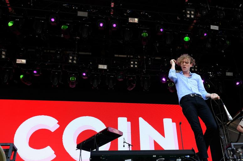 June 10 2017; Manchester, TN, USA; Chase Lawrence of Coin performs at the 16th annual Bonnaroo Music and Arts Festival. Mandatory Credit: Lacy Atkins/The Tennessean via USA TODAY NETWORK