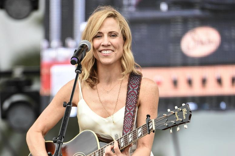 Feb 20, 2016; Miami, FL, USA; Recording artist Sheryl Crow performs during a concert at Sun Life Stadium. Mandatory Credit: Ron Elkman/USA TODAY NETWORK