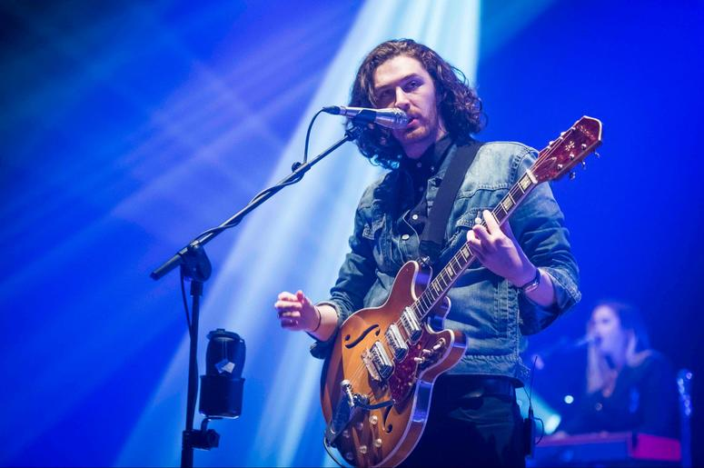 1/29/2016 - Hozier performs live on stage at the O2 Brixton Academy - London (Photo by PA Images/Sipa USA)