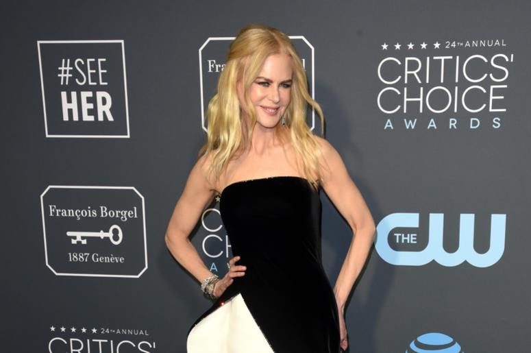 LOS ANGELES, CALIFORNIA - JANUARY 13: Nicole Kidman attends the 24th Annual Critics' Choice Awards at Barker Hangar on January 13, 2019 in Santa Monica, California. Photo: imageSPACE/SIPA USA