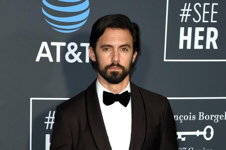 LOS ANGELES, CALIFORNIA - JANUARY 13: Milo Ventimiglia attends the 24th Annual Critics' Choice Awards at Barker Hangar on January 13, 2019 in Santa Monica, California. Photo: imageSPACE/SIPA USA