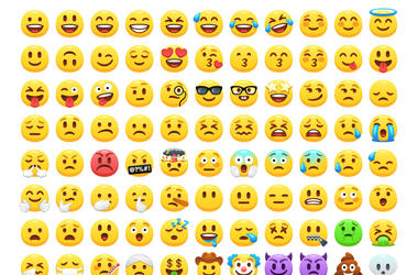 assorted emojis