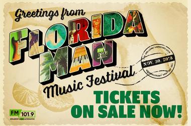 Florida Man Music Festival On-Sale