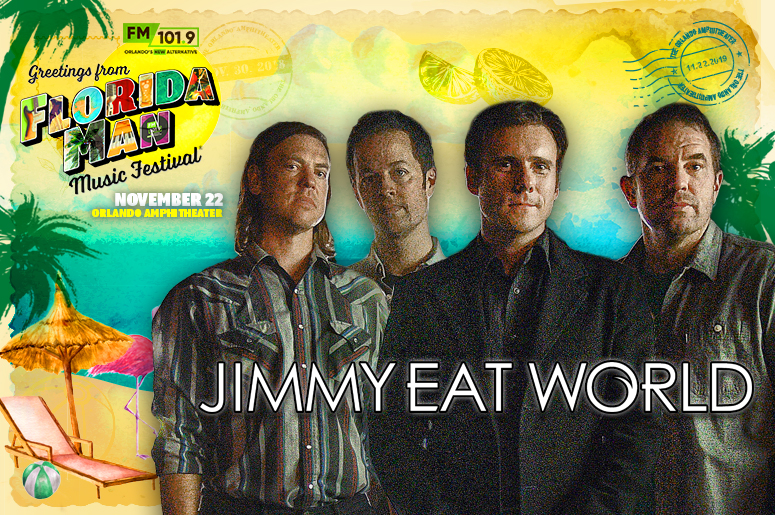 Jimmy Eat World Florida Man Banner
