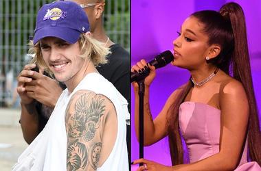 Justin Bieber x Ariana Grande