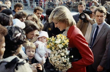 Princess Diana, flowers